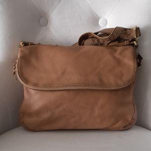 Fossil tan crossbody bag